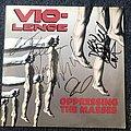 Vio-lence Oppressing The Masses LP (Signed) Tape / Vinyl / CD / Recording etc