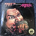 Anthrax Fistful Of Metal LP (Signed)