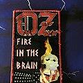Oz Fire In The Brain  Patch