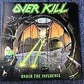 Overkill Under The Influence  LP (Signed) Tape / Vinyl / CD / Recording etc