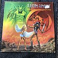 Iron Angel Hellish Crossfire LP (Signed)  Tape / Vinyl / CD / Recording etc