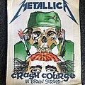 Metallica Crash Course In Brain Surgery  Patch