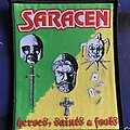 Saracen - Patch - Saracen Heroes, Saints and Fools