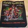 Iron Maiden - Stranger in a strange land Vintage Backpatch