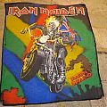Iron Maiden - Maiden England Vintage Backpatch