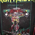 Iron Maiden - Somewhere on tour Vintage Backpatch