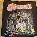 Saxon - Crusader Vintage Backpatch