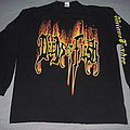 Deeds Of Flesh - TShirt or Longsleeve - Deeds Of Flesh - Burning Logo Longsleeve