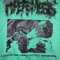 Hyperemesis (Canada) Oxidative Hepatocytic Necrosis  t-shirt 'green