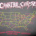 Cannibal Corpse  Bleeding Across North America tour '94 TShirt or Longsleeve