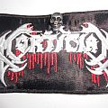Mortician patch w/ pin