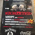 The Exploited - Other Collectable - The Exploited - Poster Arena Muzika Fest 2007