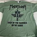 Manowar - TShirt or Longsleeve - Manowar - SotH 2019 - green