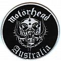 Motorhead - Australia-Round Patch