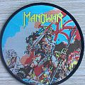 Manowar - Patch - Manowar - Hail to England - Black Border Round