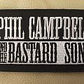 Phil Campbell And The Bastard Sons - Patch - Phil Campbell And The Bastard Sons - logo