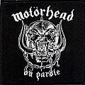 Motorhead - On Parole Patch