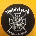Motörhead - Patch - Motorhead - The World is Yours