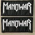 Manowar- B/W logo Patch