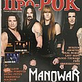 Manowar - Other Collectable - Pro-Rock - April 2007
