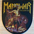 Manowar - Into Glory Ride - black border Patch