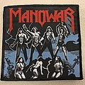 Manowar - FtW - black and blue Patch