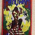 Manowar - Agony and Ecstasy bootleg - red Patch