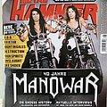 Manowar - Other Collectable - Manowar - Metal Hammer