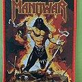 Manowar - Patch - Manowar - the Dawn of Battle - red border