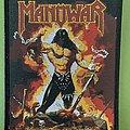 Manowar - Patch - Manowar - the Dawn of Battle - black border