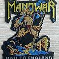 Manowar - Patch - Manowar - Hail to England shaped