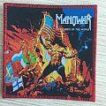 Manowar - Patch - Manowar - Warriors of the World - red