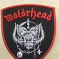 Motörhead - Patch - Motorhead - Snagletooth - Shield - Red Border