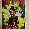 Manowar - Agony and Ecstasy bootleg - white Patch
