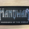 Manowar - Warriors of the World patch