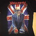 Megadeth Tour Shirt 2015