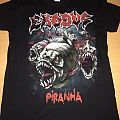 Exodus - Piranha Tshirt