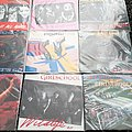 "Girlschool early 7"" lot"