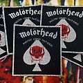 Motörhead Vintage Square Patch (silver border)