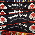 Motörhead Vintage Strip Patch (red border)