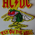 AC/DC Rare 'Fly on the wall' Back Patch!