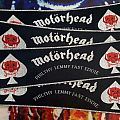 Motörhead Vintage Strip Patch (silver border)