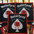 Motörhead Vintage Square Patch (red border)
