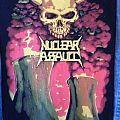 Nuclear Assault 1991 Survive Back Patch