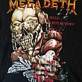 Megadeth Wake Up Dead 1987 Tour T-Shirt