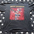 Bruce Dickinson accident of birth t-shirt 1997