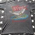 Saxon the eagle has landed tour 1982 TShirt or Longsleeve
