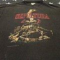 Sepultura arise blue grape european tour 1991 t-shirt