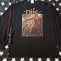 Nile Ithyphallic US tour 1999 among at the catacombs longsleeve