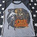 Ozzy Osbourne ultimate sin world tour 1986 TShirt or Longsleeve